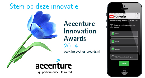 VoxVote Accenture Innovation Awards