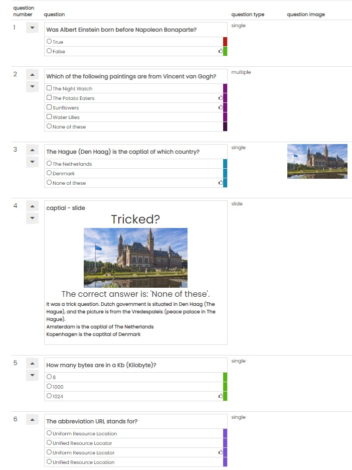 Top VoxVote Quiz - Transform your VoxVote questions into a Quiz YE08